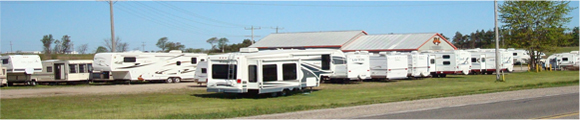 Great Escape RV Dealership Exterior Shot